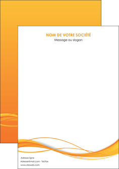 imprimerie affiche orange couleur couleurs MIF70420