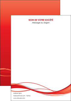 impression flyers rouge couleur couleurs MIF70484