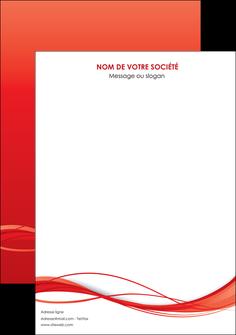 creation graphique en ligne affiche rouge couleur couleurs MIF70490
