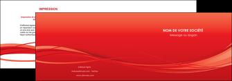 imprimerie depliant 2 volets  4 pages  rouge couleur couleurs MIF70498
