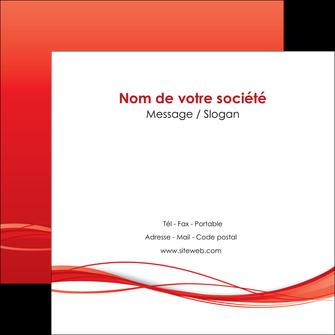 creer modele en ligne flyers rouge couleur couleurs MIF70514