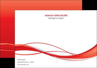 creation graphique en ligne flyers rouge couleur couleurs MIF70516