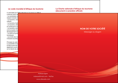 faire modele a imprimer depliant 2 volets  4 pages  rouge couleur couleurs MIF70522