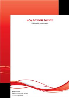 impression affiche rouge couleur couleurs MIF70524