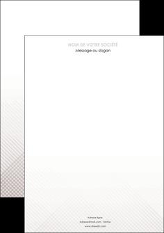 exemple affiche gris simple sobre MLGI70704