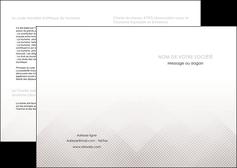personnaliser maquette depliant 2 volets  4 pages  gris simple sobre MLGI70706