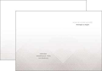 modele pochette a rabat gris simple sobre MLGI70714