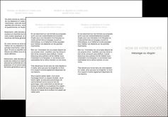 creer modele en ligne depliant 3 volets  6 pages  gris simple sobre MLGI70726