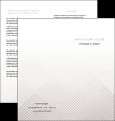 creation graphique en ligne depliant 2 volets  4 pages  gris simple sobre MLGI70728