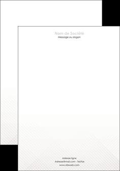 modele tete de lettre gris simple sobre MLGI70732