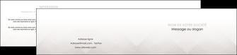 creer modele en ligne depliant 2 volets  4 pages  gris simple sobre MLGI70736