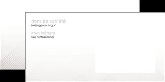 creer modele en ligne enveloppe gris simple sobre MLGI70738