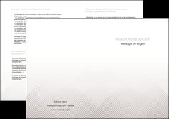 personnaliser maquette depliant 2 volets  4 pages  gris simple sobre MLGI70740