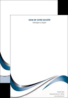 faire modele a imprimer affiche web design bleu fond bleu couleurs pastels MIF70818