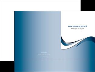 faire modele a imprimer pochette a rabat web design bleu fond bleu couleurs pastels MIF70826
