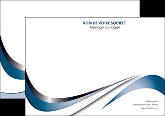 imprimerie affiche web design bleu fond bleu couleurs pastels MIF70834