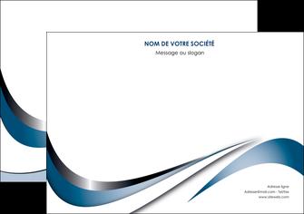 personnaliser modele de flyers web design bleu fond bleu couleurs pastels MIF70846