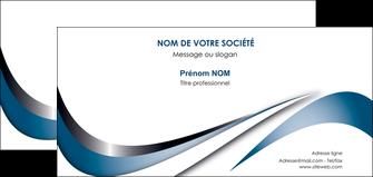 cree carte de correspondance web design bleu fond bleu couleurs pastels MIF70850