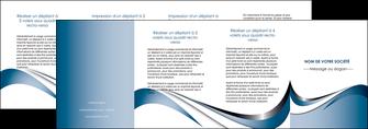 creer modele en ligne depliant 4 volets  8 pages  web design bleu fond bleu couleurs pastels MIF70862