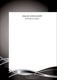impression flyers web design noir fond gris simple MIS70970