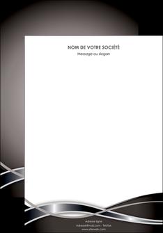 exemple affiche web design noir fond gris simple MIS70974