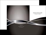cree pochette a rabat web design noir fond gris simple MLGI70982