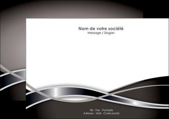 exemple flyers web design noir fond gris simple MIS70992