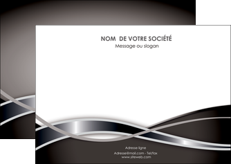 faire flyers web design noir fond gris simple MLGI70996
