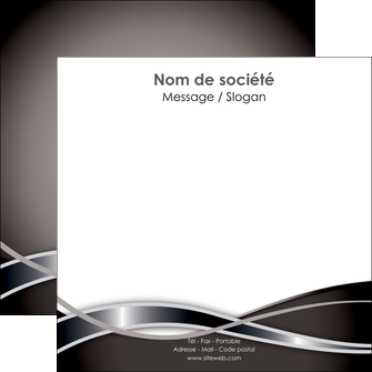 faire flyers web design noir fond gris simple MLGI71000