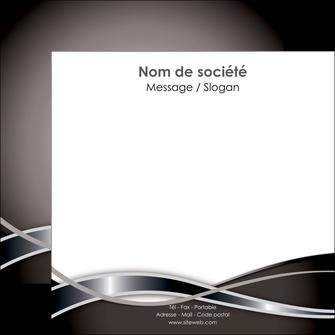 faire flyers web design noir fond gris simple MIS71000