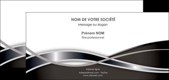 modele carte de correspondance web design noir fond gris simple MLGI71006