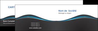 personnaliser maquette carte de visite gris gris fonce mat MLGI71206