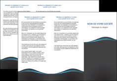 imprimer depliant 3 volets  6 pages  gris gris fonce mat MLGI71224