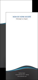 personnaliser maquette flyers gris gris fonce mat MLGI71248