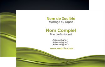 personnaliser maquette carte de visite espaces verts vert vert pastel fond vert pastel MIF71414