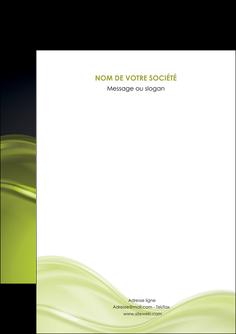 faire modele a imprimer flyers espaces verts vert vert pastel fond vert pastel MIF71416