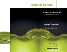 modele en ligne carte de visite espaces verts vert vert pastel fond vert pastel MLGI71424