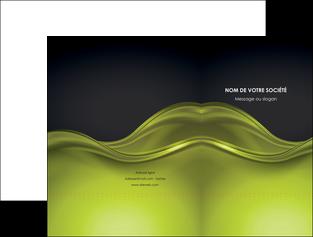 Impression Chemise / pochette à rabats Espaces verts devis d'imprimeur publicitaire professionnel Chemises à rabats - A4 (recto seul)