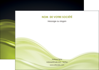 maquette en ligne a personnaliser flyers espaces verts vert vert pastel fond vert pastel MIF71442