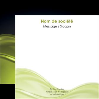 creer modele en ligne flyers espaces verts vert vert pastel fond vert pastel MIF71446