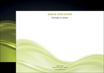 creer modele en ligne flyers espaces verts vert vert pastel fond vert pastel MIF71448