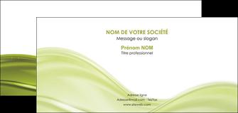 faire modele a imprimer carte de correspondance espaces verts vert vert pastel fond vert pastel MIF71452