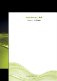 personnaliser modele de flyers espaces verts vert vert pastel fond vert pastel MIF71460