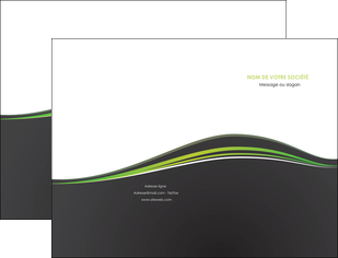 personnaliser maquette pochette a rabat web design gris gris metallise fond gris metallise MLGI71478