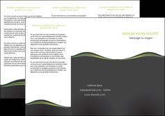 faire modele a imprimer depliant 3 volets  6 pages  web design gris gris metallise fond gris metallise MLGI71492