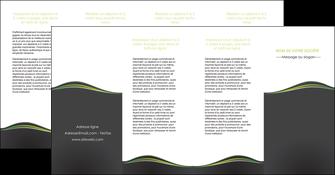 creation graphique en ligne depliant 4 volets  8 pages  web design gris gris metallise fond gris metallise MIS71514