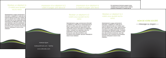 imprimer depliant 4 volets  8 pages  web design gris gris metallise fond gris metallise MLGI71516