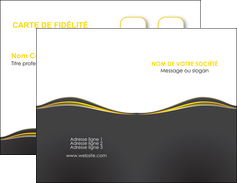 creation graphique en ligne carte de visite web design gris gris fonce mat MIF71528