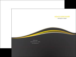 faire modele a imprimer pochette a rabat web design gris gris fonce mat MIF71532