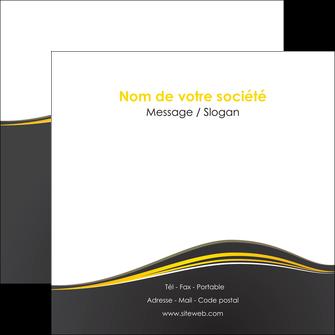 personnaliser modele de flyers web design gris gris fonce mat MIF71550